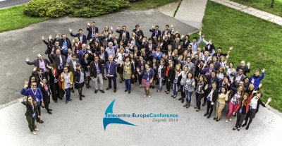 Participants' group photo at TEAC 2014 in Zagreb