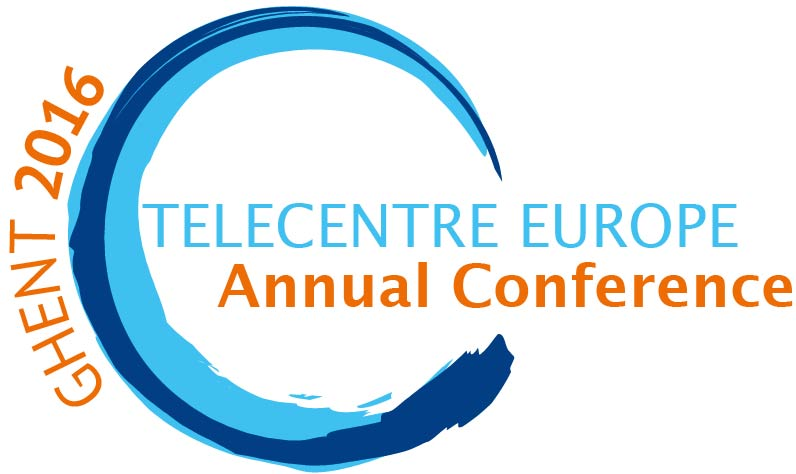 Telecentre Europe Annual Conference 2015 logo
