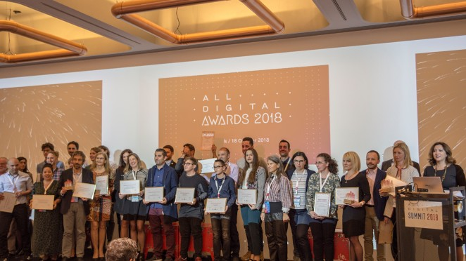Finalists of ALL DIGITAL Awards 2018