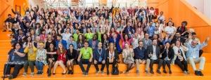 All Digital Summit 2019 all participants waving